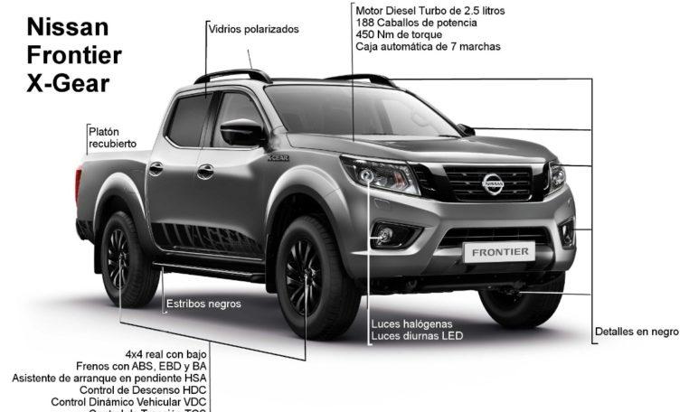 Nueva Nissan Frontier X-Gear 2019 en Santiago - El Yaque ...